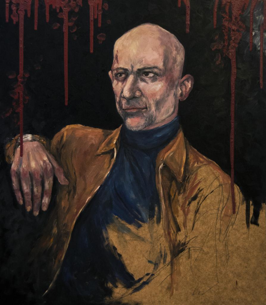 PRIVATEJE Jimmy Jørgensen, Danmarks Bedste Portrætmaler | 68x58,5 cm | Olie på træ